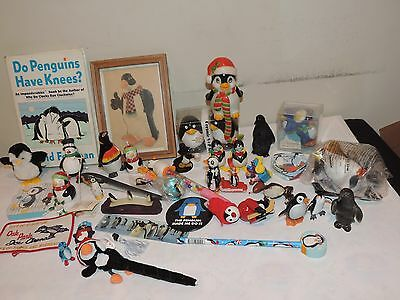 Penguin Lot Vintage Figurines Toys Decorations & More Collection (g959)