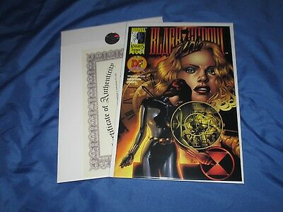 BLACK WIDOW #1 Signed by Stan Lee w/COA ~DF Dynamic Forces Variant AVENGERS
