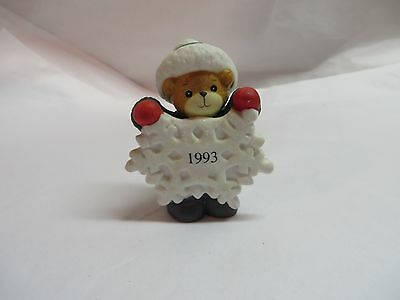 Lucy And Me ~ Enesco ~ Snowflake Bear Dated 1993