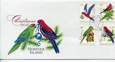 2010 Norfolk Island Christmas FDC