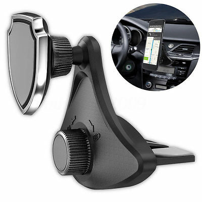 Universal 360° Rotating CD Slot Car Mount Holders Stands Magnetic for Cell Phone