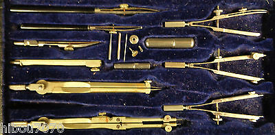 Keuffel & Esser Co, Drawing Tools in Case N9526, Made in Germany