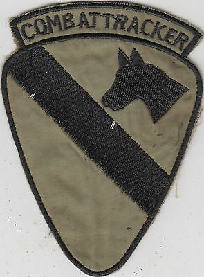 US Army 1st Air Cavalry Division Vietnam Patch - Combat Tracker
