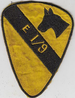US Army 1/9th Cavalry Regiment Vietnam Patch