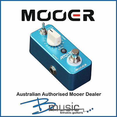 Brand NEW Mooer Pitch Box Pitch Shifter - Authorised Australian Mooer Dealer