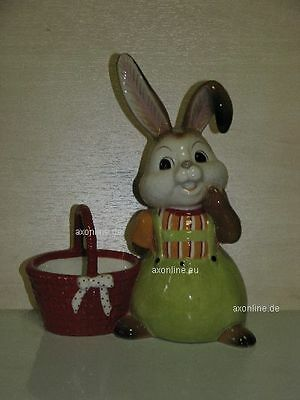 +# A016982_07 Goebel Archiv Muster Ostern Easter Hase Bunny mit Korb Basket