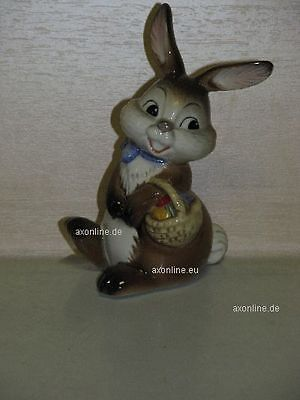 +# A015986_10 Goebel Archiv Erstmuster Ostern Easter Hase Bunny mit Eierkorb