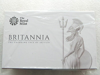 2014 Great Britain Britannia Gold Proof 3 Coin Set Box Coa Sealed - Mintage 140