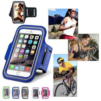 Sports Running Jogging Riding Gym Armband Arm Band Case Cover Holder For Samsung