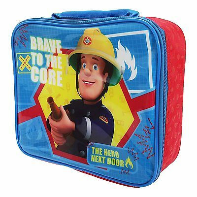 "Fireman Sam ""Brave"" Insulated Lunch Bag"