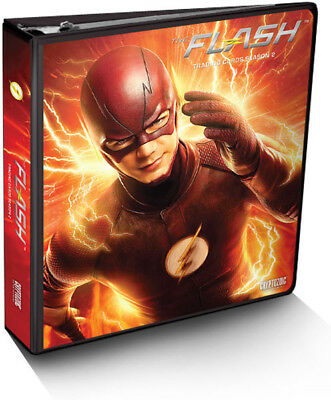 Flash Season 2 Trading Card Binder Album with Exclusive Card