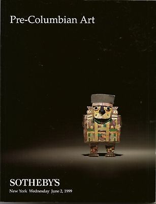 SOTHEBY'S PRE-COLUMBIAN ART PERU MAYA GOLD Auction Catalog 1999