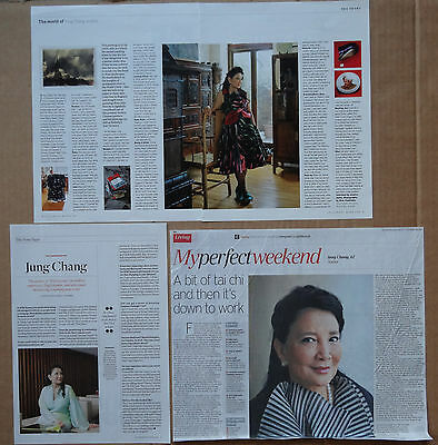 Jung Chang - clippings/cuttings/articles pack