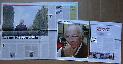Philip Pullman - clippings/cuttings/articles pack