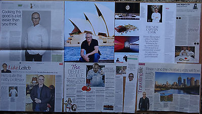 Heston Blumenthal - clippings/cuttings/articles pack