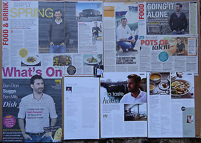 Mark Sargeant - clippings/cuttings/articles pack