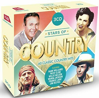 Various - Stars Of Country: 60 Classic Country Hits - Various CD B4VG The Cheap