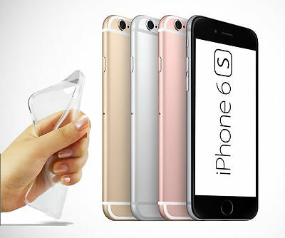 For iPhone 6 6S 7 Soft Silicone TPU Ultra Thin Slim Clear Transparent Cover Case
