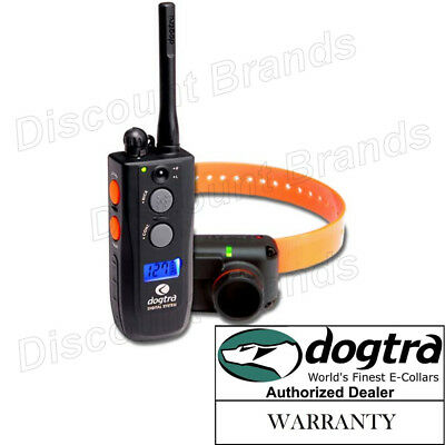 Dogtra Training and Beeper 1 Mile Dog Remote Trainer Black Authorized Dealer