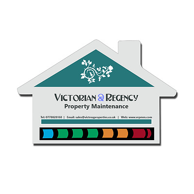 House LCD Thermometer Magnets - Perfect for promotional