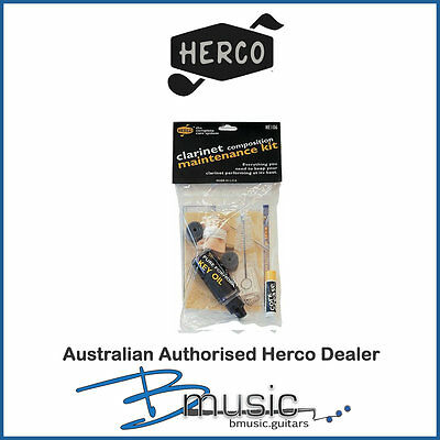Herco Composite Clarinet Maintenance Kit - Brand NEW - Complete Care Kit