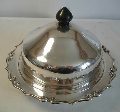Hukin & Heath Silver Plated Muffin Dish