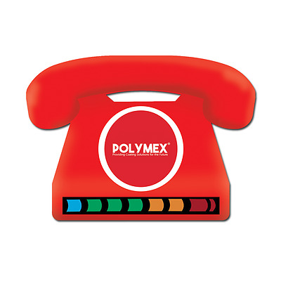 Telephone LCD Thermometer Magnets - Perfect for promotional