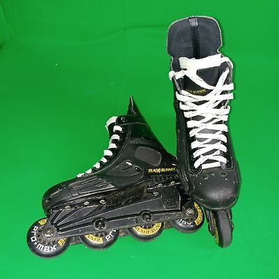 Rollerblade Blade Runner Pro Max Inline Skates Off Ice Hockey Size 8 Usa 76Mm
