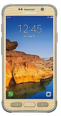 Samsung Galaxy S7 Active G891A 32GB Unlocked GSM Smartphone - Sandy Gold
