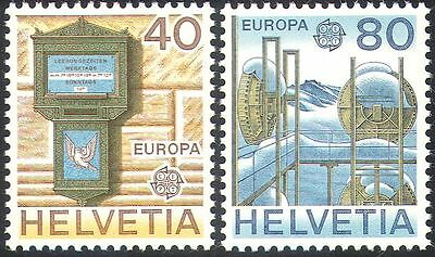 Switzerland 1979 Europa/Communications/Letter Box/Radio/Telecomms 2v set n42556
