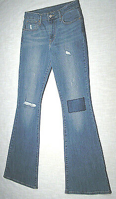 Used LEVI'S 227900007 Bellbottom Jeans (Vtg 70s Style) High Rise Flare 30x32