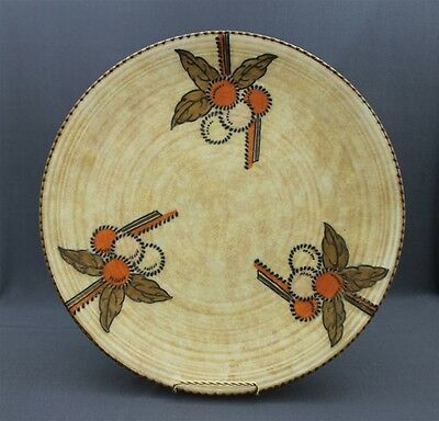 Crown Ducal Pottery Signed CHARLOTTE RHEAD #5982 Circular Fruits Wall Art Plate