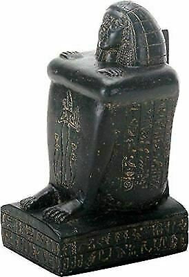"Ebros Gift Ancient Egyptian Seated Statue 5"" Height Egypt Civilization"