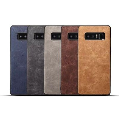 10pcs/lot Slim Vintage Retro Holster PU Leather Case for Samsung Galaxy Note 8