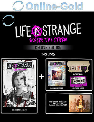 Life is Strange Before the Storm Deluxe Edition Key - PC Steam Code[Action]DE/EU