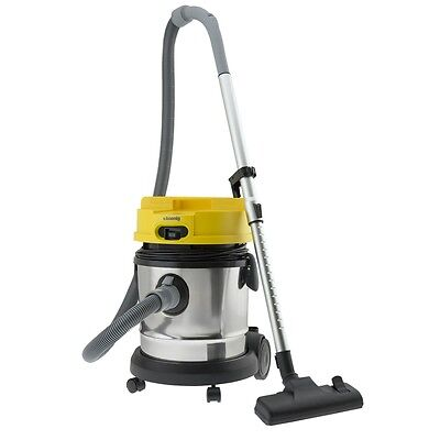 Pro 3 in 1 Wet Dry Vacuum 1400 Watt 676 oZ Stainless steel Container Hkoenig