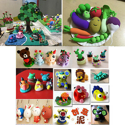 DIY Craft ChildrenToy Clay Modeling Clay 24-Color Super-light Clay Kid Gift Soft