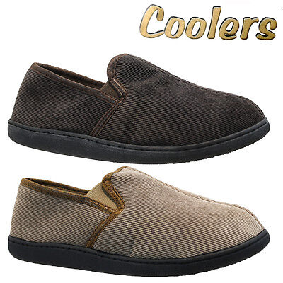 Mens Coolers Fur Comfort Slip On Flat Warm Winter Casual Slippers Shoes Mules
