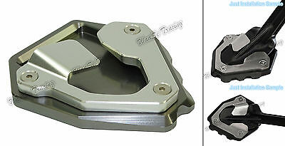 Kickstand Side Stand Enlarger Titanium For 16-17 HONDA CRF1000L Africa Twin AU