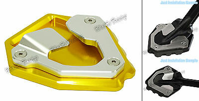 Kickstand Side Stand Enlarger Gold For 2016-2017 HONDA CRF1000L Africa Twin AU