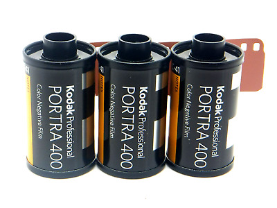 3 x KODAK PORTRA 400 35mm 36 Exp CHEAP PRO COLOUR FILM By 1st CLASS ROYAL MAIL