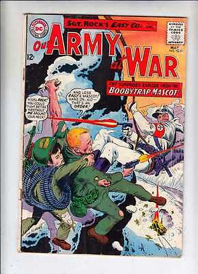 Our Army at War 154 strict VG Sgt Rock Joe Kubert 100's of discounted DC War now
