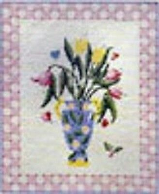 Tulip Time Tapestry Canvas  DMC  24cm x28cm