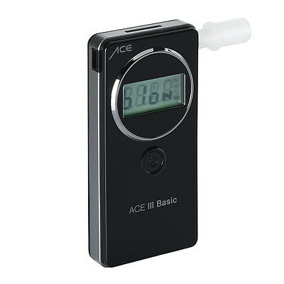 Alcohol Tester Ace III Premium, Changing Sensor L 25 Mouth Pieces