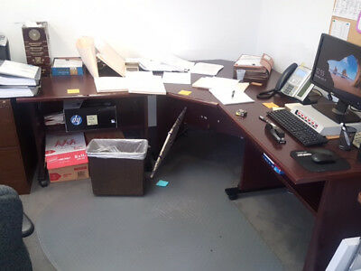 File Cabinets, Table And Desk (Insurance Required)