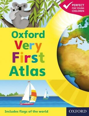 Oxford Very First Atlas Paperback 2011 (Paperback), Wiegand, Patr...