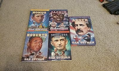 Baseball Card Adventures Lot of 5 Books by Dan Gutman