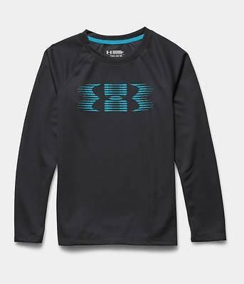 Boy's Under Armour 1259704 All Season Gear Waffle Thermal Long Sleeve Shirt YL