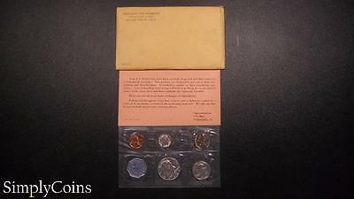 1964 Proof Set ~ Original Envelope With COA ~ US Mint Silver Coin Lot SKU-450