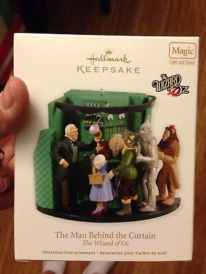 Hallmark The Man Behind The Curtain New In Box